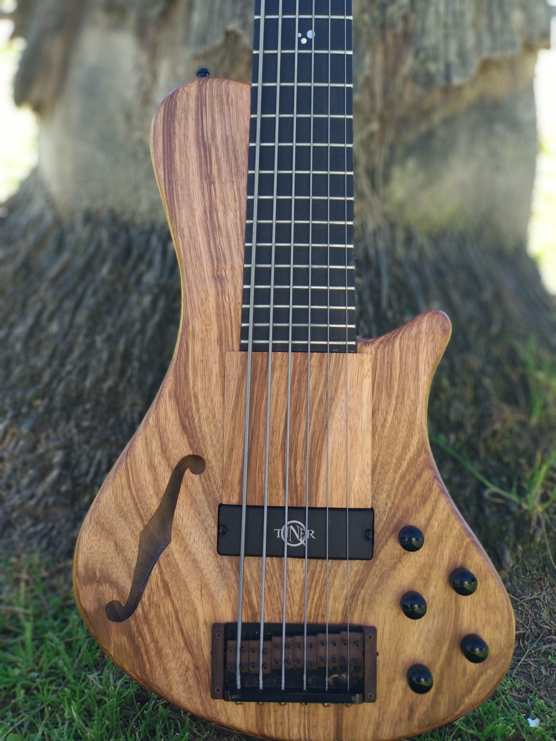 Cavus Belcanto Bass - Q-Tuner PU