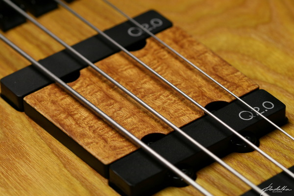 Ennea bass-4 Ceres by Padalka Guitars with Q-tuner pickups