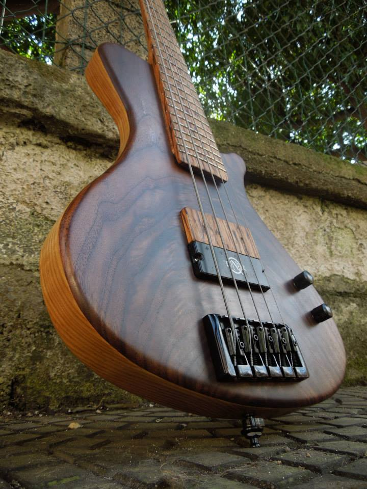 Signature 5 string bass model by Pasquale Lodato. Pickup: high definition neodymium q2.0 Q-tuner.