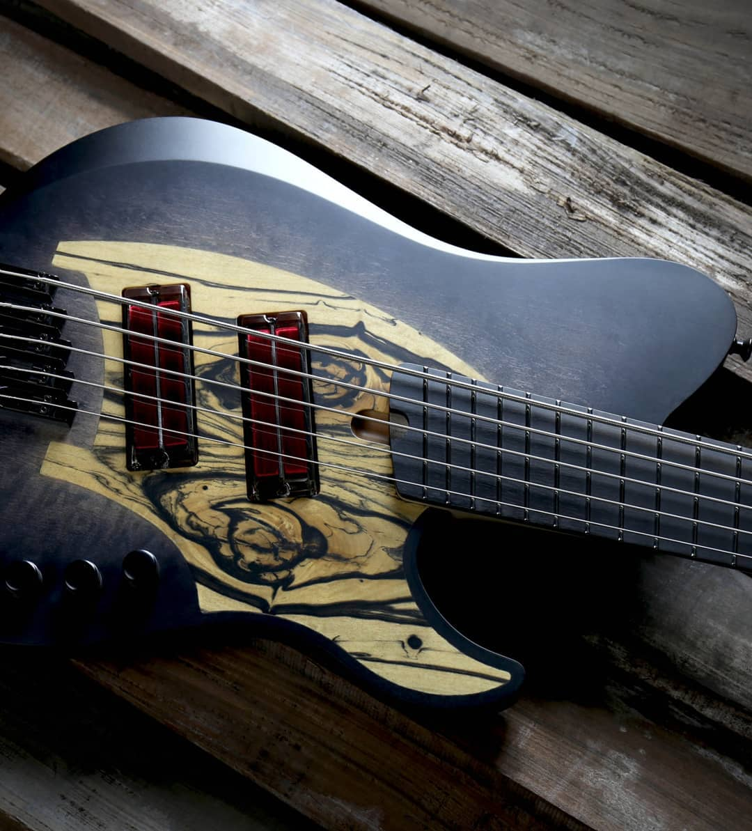 skervesen signature bass q-tuner neodymium pickups