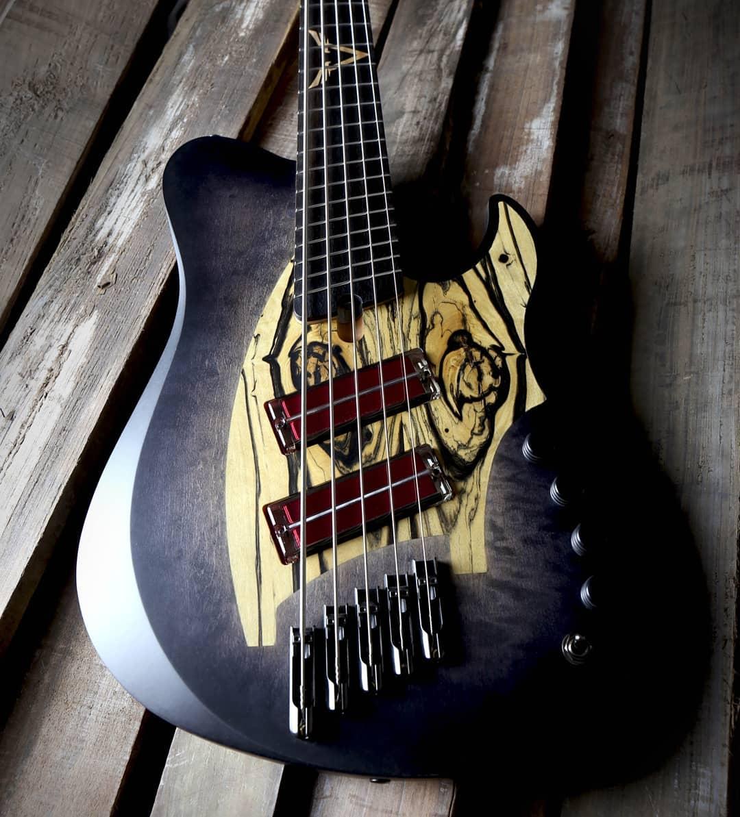 skervesen signature bass q-tuner pickups